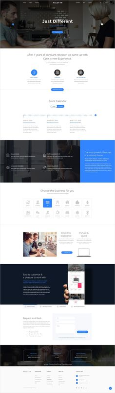 Halcyon is beautifully design premium #PSD #theme for stunning #websites with 30+ multipurpose homepage layouts and 52 organized PSD pages download now➩ https://themeforest.net/item/halcyon-multipurpose-modern-website-psd-template/17535264?ref=Datasata