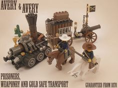 #LEGO #Steampunk Avery  Avery Co. 1