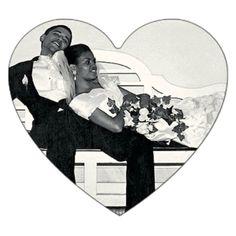 Barack & Michelle Obama.