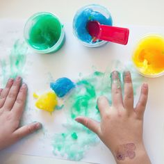 DIY Gluten-Free Finger Paint | Mom
