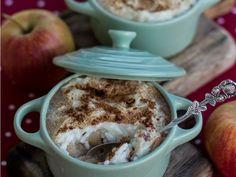 Ciepły Deser: Pieczony ryż z cynamonem i jabłkami