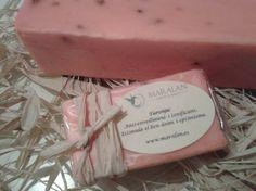 Jabón artesano y natural 100% Naranja Antienvejecimiento y tonificante. Estimula el buen ánimo y el optimismo. www.maralan.es