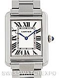 Cartier Tank Solo Small Stainless Steel Watch W5200013