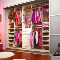 Cool open closet