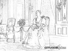 Outlander Season Coloring Pages The Un Official Book 2015 Holiday Edition