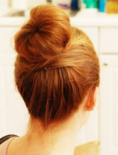 DIY The Perfect Bun