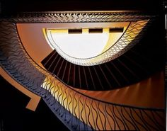 Another art deco stair balustrade