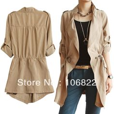 Cheap Trench, Buy Directly from China Suppliers:  New Brand 100%!Length:Look the Size ChartBust:Look the Size ChartShoulder:Look the Size ChartMaterial:Cotton Blen