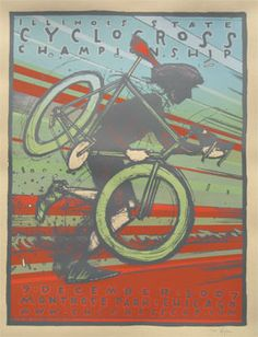 Way cool.  IL State CX has some excellent race posters.