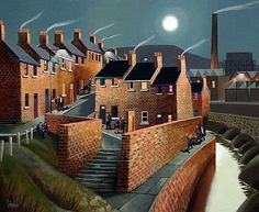 RT helen warlow: George Callaghan is a fab Irish artist with two distinct styles (at least) like this painting. Goodnight Thank you pic.twitter.com/lGBmXQMS9n