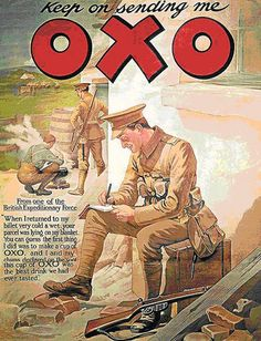 OXO ancient advert -