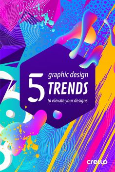 5 Graphic Design Trends to Elevate Your Designs We put together just 5 big graphic design trends from this year so far so that you can enrich your designs, and truly make them 'trendy'. Web Design, Graphic Design Trends, Graphic Design Tutorials, Tool Design, Graphic Design Inspiration, Layout Design, Design Ideas, Effects Photoshop, Affinity Designer