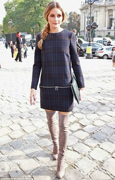 THE OLIVIA PALERMO LOOKBOOK: Paris Fashion Week : Olivia Palermo At Carven