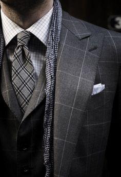 Gentlemen: #Gentlemen's fashion.