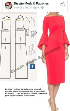 New Look 6429 Misses' Dresses Beginner Sewing Patterns, Dress Sewing Patterns, Clothing Patterns, Make Your Own Clothes, Diy Clothes, Sewing Blouses, Techniques Couture, Sewing Lessons, Dress Tutorials