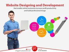 P3 Multisolutions offer #website_designing and #development solutions that enable online businesses increase profit productivity and build #professional image.