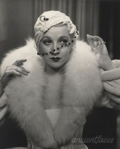 English actress Margot Grahame in a 1930′s fashion photo first posted by ancientfaces