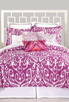 PANTONE Color of the Year 2014 - Radiant Orchid in Decor - Trina Turk