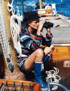 Vogue Paris May 2013 - Edita Vilkeviciute by Gilles Bensimon 2
