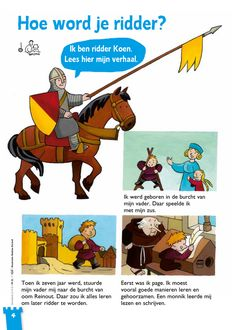 Hoe word je ridder? 1 @keireeen Learn Dutch, Dutch Language, Dragon King, Knight, Medieval, Castle, Teaching, History, Words