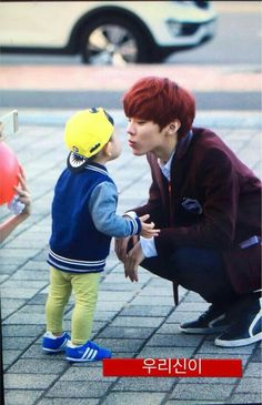 My oppa, and our little baby boy Daejeon, Nct, Up10tion Wooshin, All About Kpop, How To Speak Korean, Lee Dong Wook, Korean Wave, Flower Boys, Baby Daddy