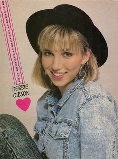 80s debbie fashion tumblr | Debbie Gibson: While she was still in high... | Fuck Yeah 1980's