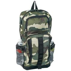 Military Camo Every Day Carry Day Backpack Hiking Camping Bug Out Bag   eBay