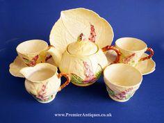 Premier Antiques: Carlton Ware Yellow Foxglove