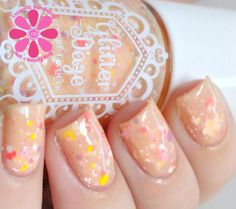 GlitterDaze Flowers Are A Girl's Best Friend Nail Polish | Cosmetic Sanctuary
