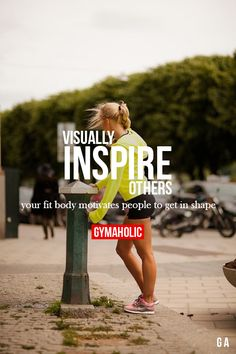 Visually Inspire Others http://www.gymaholic.co/motivation #fit #fitness #fitblr #fitspo #motivation #gym #gymaholic #workouts #nutrition #supplements #muscles #healthy