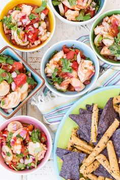 Shrimp and Hearts of Palm Ceviche recipe from Weel… Shrimp Dishes, Shrimp Recipes, Fish Recipes, Vegetable Recipes, Appetizer Recipes, New Recipes, Salad Recipes, Dinner Recipes, Favorite Recipes