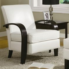 Wonda Bonded Leather Arm Chair