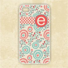 iPhone 4 Case monogram iPhone 4 case Fireworks by CreateItYourWay, $19.99