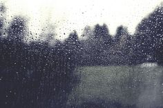 Who likes watching the rain from their window?