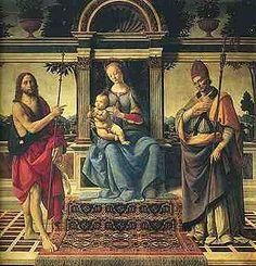 Verrochio - La Madonna di Piazza è un dipinto a tempera su tavola di Andrea del Verrocchio e Lorenzo di Credi, databile al 1474-1486 circa e conservato nella Cattedrale di San Zeno a Pistoia.