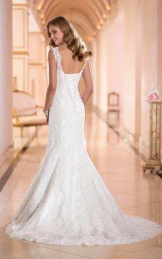 5853 Wedding Dresses with Straps by Stella York