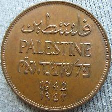 Palestine 1942 2 Mils