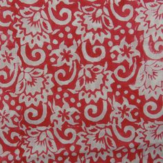 20 Yard Hand Printed Cotton Fabric Jaipuri by handprintedshop