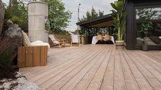 Praktisk putekasse på en helg - Byggmakker Beach Club, Pergola, Deck, Patio, Green, Outdoor Decor, Home Decor, Porches, Summer