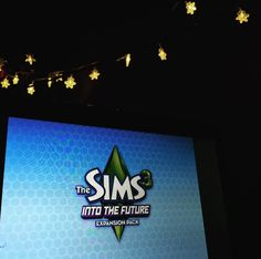 tata for now... #sims #sims3 #fairylights #phonetography