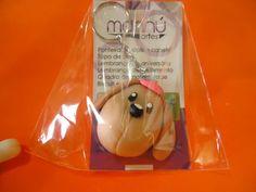 Cor do Cachorro e a boné pode ser alterado conforme desejo  Produto embalado individualmente  O tempo de produção varia conforme quantidade solicitada. R$2,50