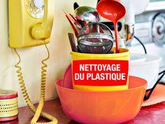 nettoyer le plastique