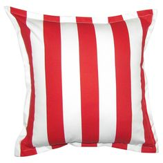 GREY GARDENS   Stripe Scatter Cushion in Red #pillow #cushion #homedecor Scatter Cushions, Throw Pillows, Grey Gardens, Lounge Decor, Amazing, Red, Accessories, Home Decor, Toss Pillows
