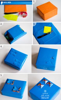 Creative DIY Gift Wrapping - http://4wmn.com/creative-diy-gift-wrapping/