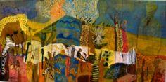 Australian Desert, Nature Paintings, Abstract Art, Paintings Of Nature