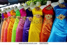 thai tradional dress - Google Search