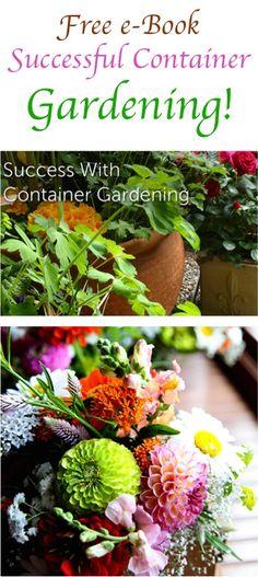 FREE e Book: Successful Container Gardening!