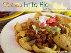 Frito Pie made with