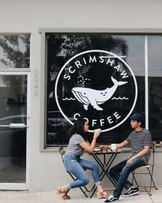 Finally getting around to updating my portfolio with new projects, starting with the branding I did for 🐋✨ – an awesome… Coffee Shop Branding, Logo Branding, San Diego Coffee Shops, Husky Logo, Cafe Interior Design, Brand Me, Logo Design, Awesome, Projects