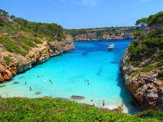 Es Caló des Moro, Mallorca, Spain